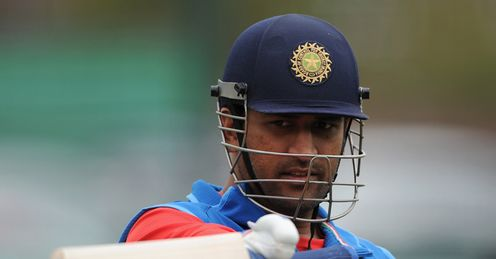 Dhoni: has led India admirably