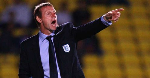 Shout of options: Pearce could manage England at Euro 2012 if the FA can&#39;t get their man
