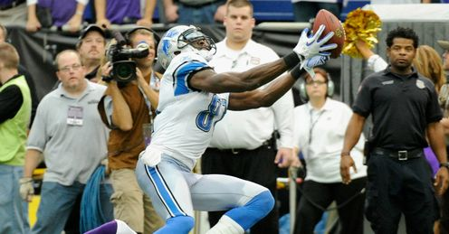 Hand it to them: Calvin Johnson aka Megatron and the Detroit Lions