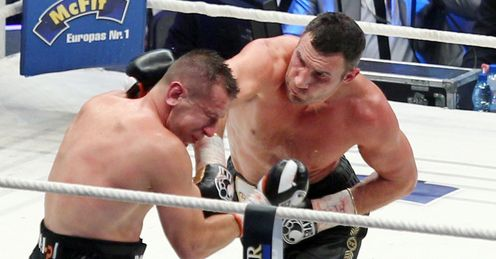 Torture: Klitschko clobbers Adamek to silence a partisan Polish crowd