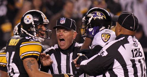 No love lost: the Ravens and the Steelers meet again