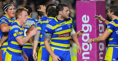 Warrington: awarded more penalties than conceded