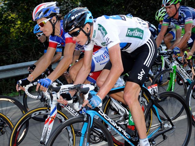 Froome: Kicked on in closing stages