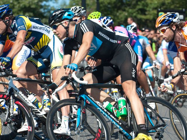 Edvald Boasson Hagen in action in Montreal in 2011