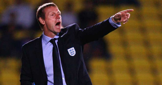 Stuart Pearce: The former Manchester City boss has been in charge of England's Under-21 team since 2007