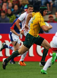 Australia v Russia - Berrick Barnes