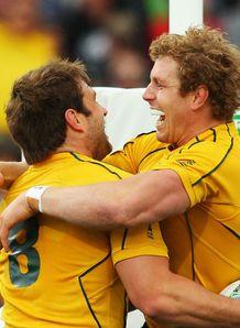Australia romp to victory