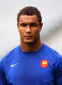 Thierry Dusautoir France training during the 2011 World Cup