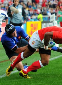 Tonga shock moody Bleus