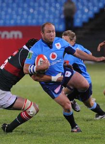 Gary Botha Blue Bulls v Leopards