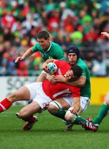 Jamie Roberts Sean OBrien wales v ireland world cup