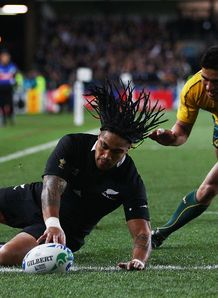 Ma a Nonu scores Anthony Fainga a new zealand australia rwc semi