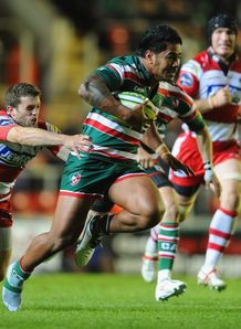 Manu Tuilagi  Leicester Tigers v Gloucester  LV Cup