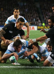 New Zealand v Argentina - Julio Farias Cabello