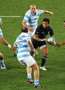 New Zealand v Argentina - Piri Weepu