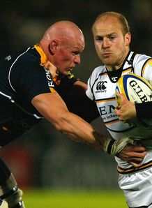 Craig Gillies Joe Simpson Worcester v Wasps