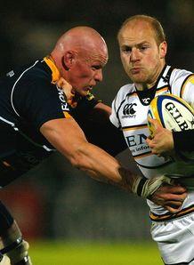 Craig Gillies Joe Simpson Worcester v Wasps