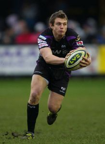 dan biggar ospreys v wasps 2011