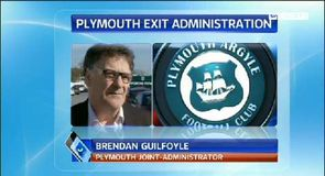 Plymouth out of administration