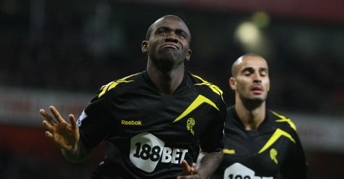 FABRICE MUAMBA: Silenced the Emirates with the opener two minutes ...
