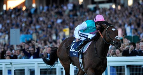 Frankel: stole the show on inaugural Champions Day