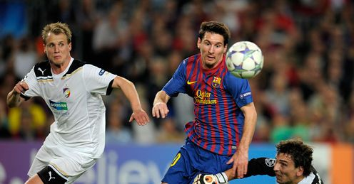 Out of this word: Messi&#39;s display rendered Ruud speechless