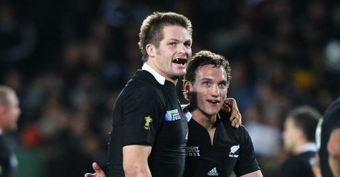 McCaw and Cruden: will they lead New Zealand into the final?