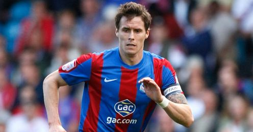 Paddy McCarthy: Enjoying his football and believes there is still plenty more to come from Palace