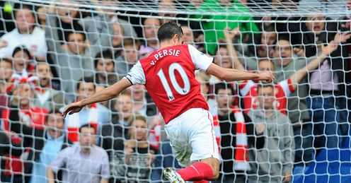 Robin to flee the nest?: Kammy reckons van Persie will leave Arsenal