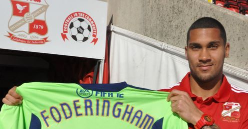 Wes Foderingham: Starting to find his feet at Swindon, a side he believes can push for promotion