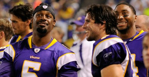 No laughing matter: can Christian Ponder (r) do what Donovan McNabb didn't?