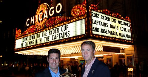 Star turns: Special Report catches up with Olazabal and Love III in Chicago