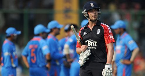 Trott: England's batsmen have struggled so far...
