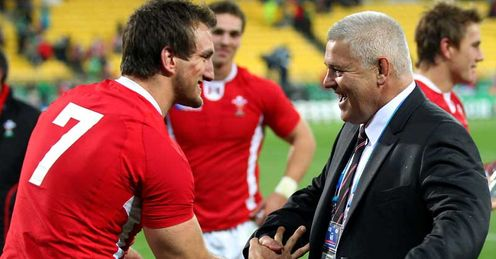 Warburton and Gatland: propelling Wales forward