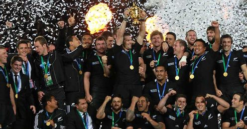 All Blacks: World Cup winning team