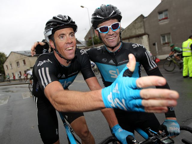 Hayman and Sutton: Bright future at Team Sky