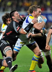 Gerhard Vosloo for Clermont against Aironi