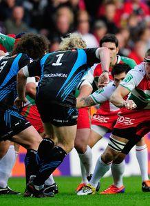 Imanol Harinordoquy Ospreys vs Biarritz