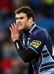 Jamie roberts cardiff blues