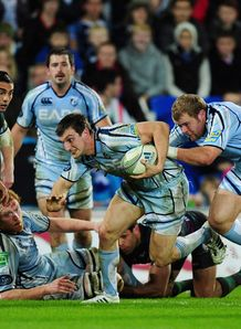 Sam Warburton Cardiff Blues London Irish hec 2011