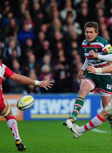 SKY_MOBILE IPAD Toby Flood Leicester Tigers