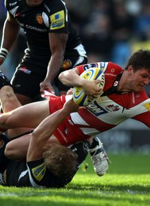 freddie burns gloucester v exeter 2011