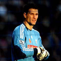 Begovic: Remains grounded