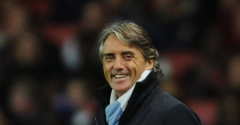 Mancini: will he be smiling after City's trip to Sunderland?