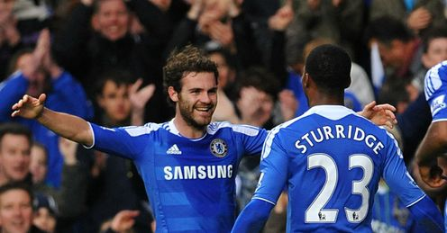 Mata: 3/1 to score at any time against Man City