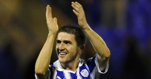 Ryan Lowe: Chasing promotion with Wednesday  Picture credit: SWFC club photographer Steve Ellis