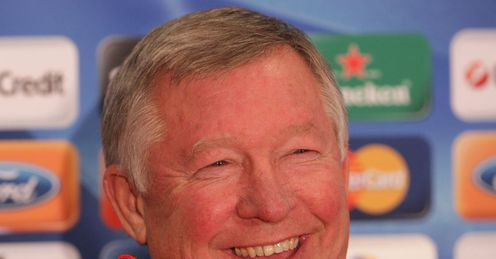 Happy days: Fergie can look forward to another win, says Ray