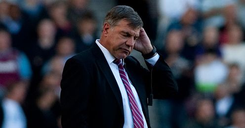 Sam Allardyce&#39;s West Ham have suffered a recent dip in form