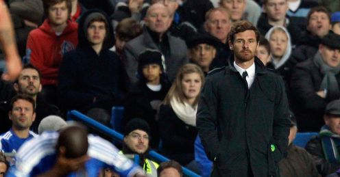 Fronting up: Andre Villas-Boas is now facing questons about his future