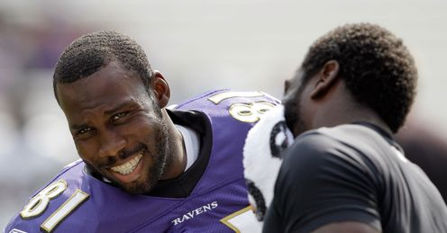 Cream of the crop: Boldin (left) and Reed will come through on Sunday, says Kev